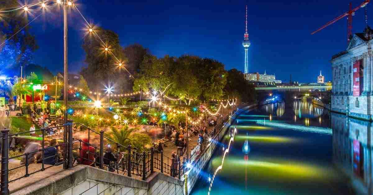 15 Restaurants am Wasser in Berlin in Deutschland