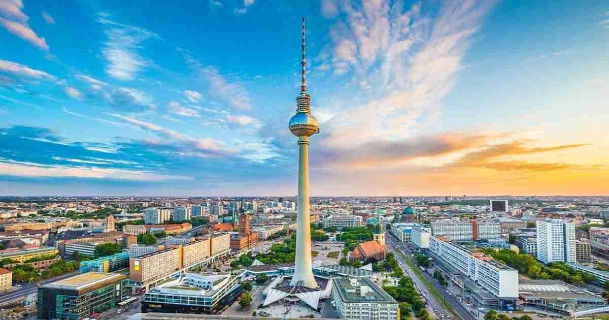 Alexanderplatz in Berlin in Deutschland