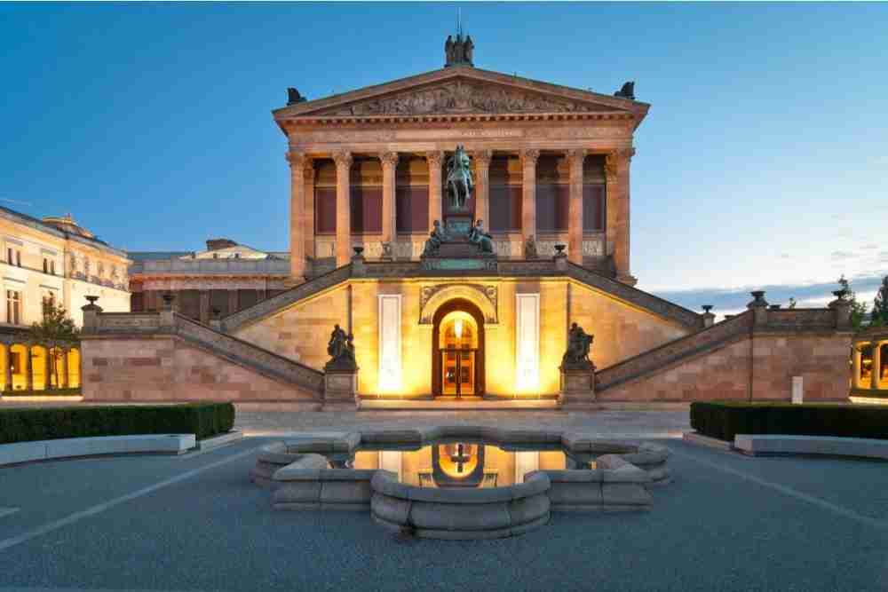Alte Nationalgalerie in Berlin in Deutschland