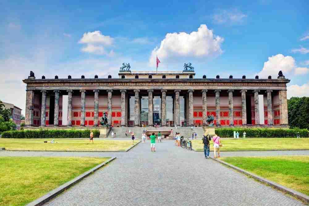 Altes Museum in Berlin in Deutschland