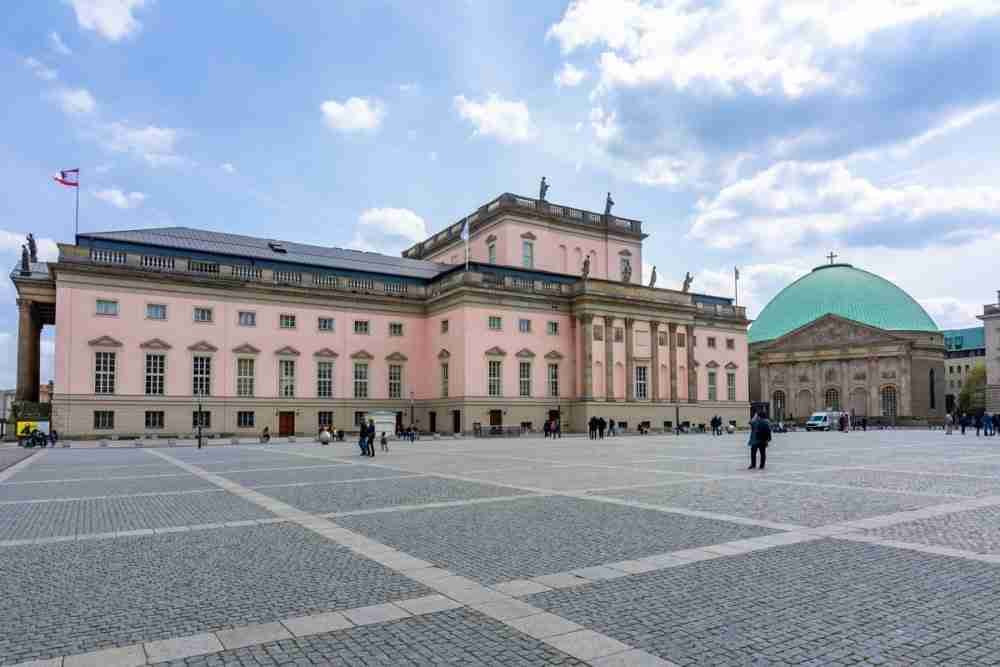 Bebelplatz in Berlin in Deutschland