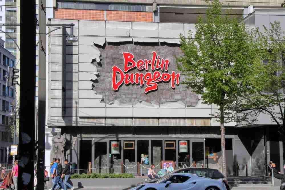 Berlin Dungeon in Berlin in Deutschland