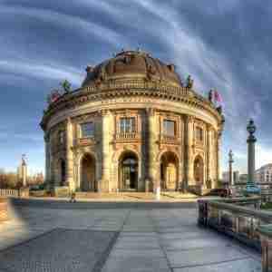 Bode Museum in Berlin in Deutschland