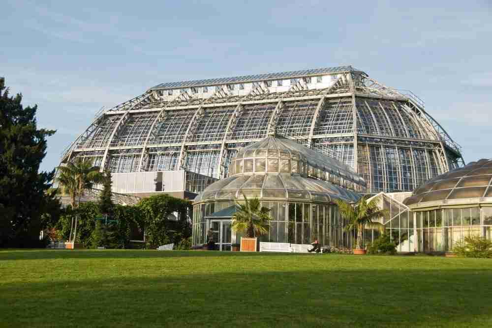 Botanischer Garten in Berlin in Deutschland