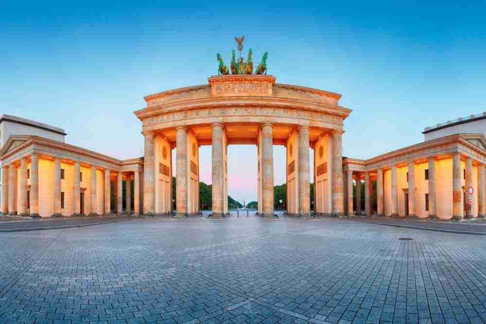 Brandenburger Tor in Berlin in Deutschland