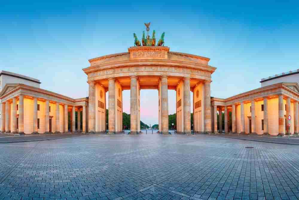 Brandenburger Tor in Berlin in Deutschland