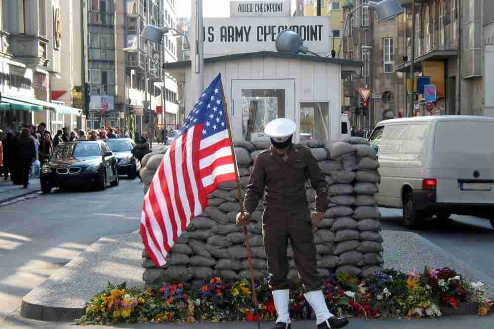 Checkpoint Charlie in Berlin in Deutschland
