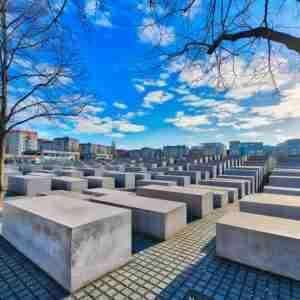 Denkmal für die ermordeten Juden Europas Holocaust Mahnmal in Berlin in Deutschland