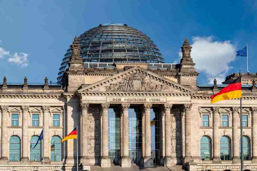 Der Reichstag während der innerdeutschen Teilung
