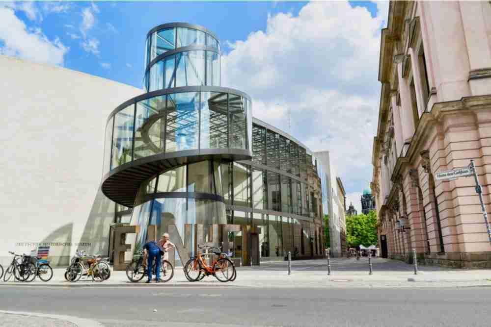 Deutsches Historisches Museum in Berlin in Deutschland