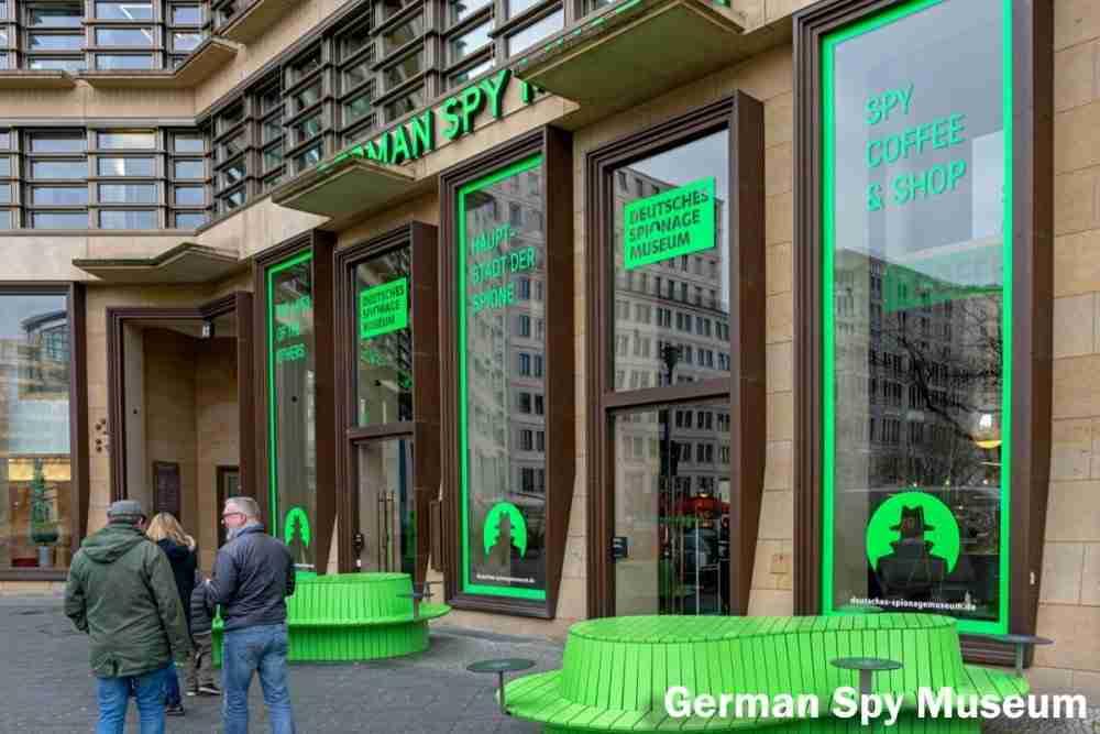 Deutsches Spionagemuseum in Berlin in Deutschland