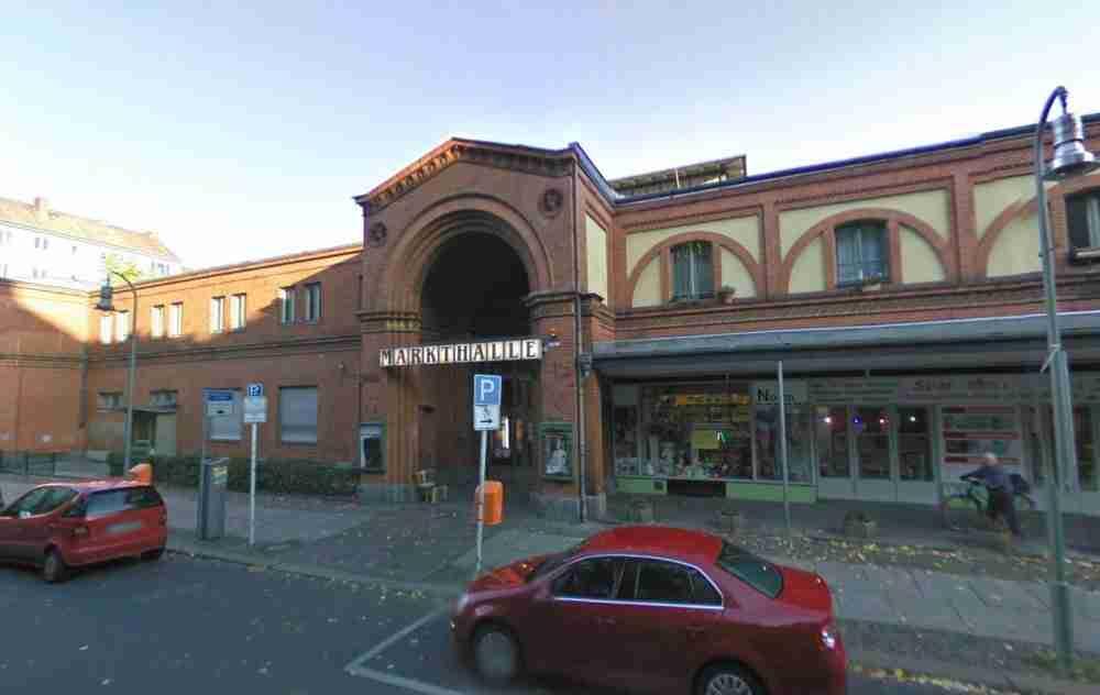 Die Arminiusmarkthalle in Berlin in Deutschland
