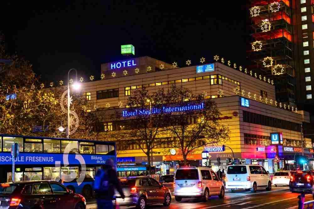 Die Schloßstraße in Berlin in Deutschland