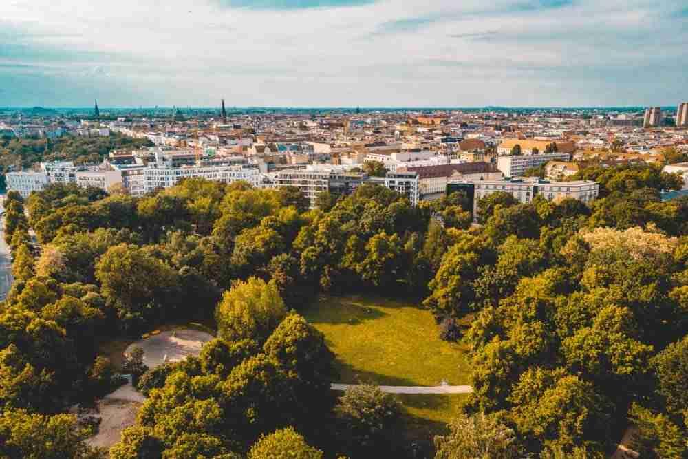 Friedrichshain Kreuzberg in Berlin in Deutschland