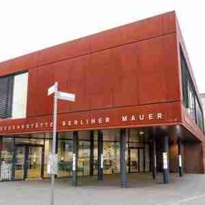 Gedenkstätte Berliner Mauer Dokumentations und Besucherzentrum Bernauer Straße in Berlin in Deutschland