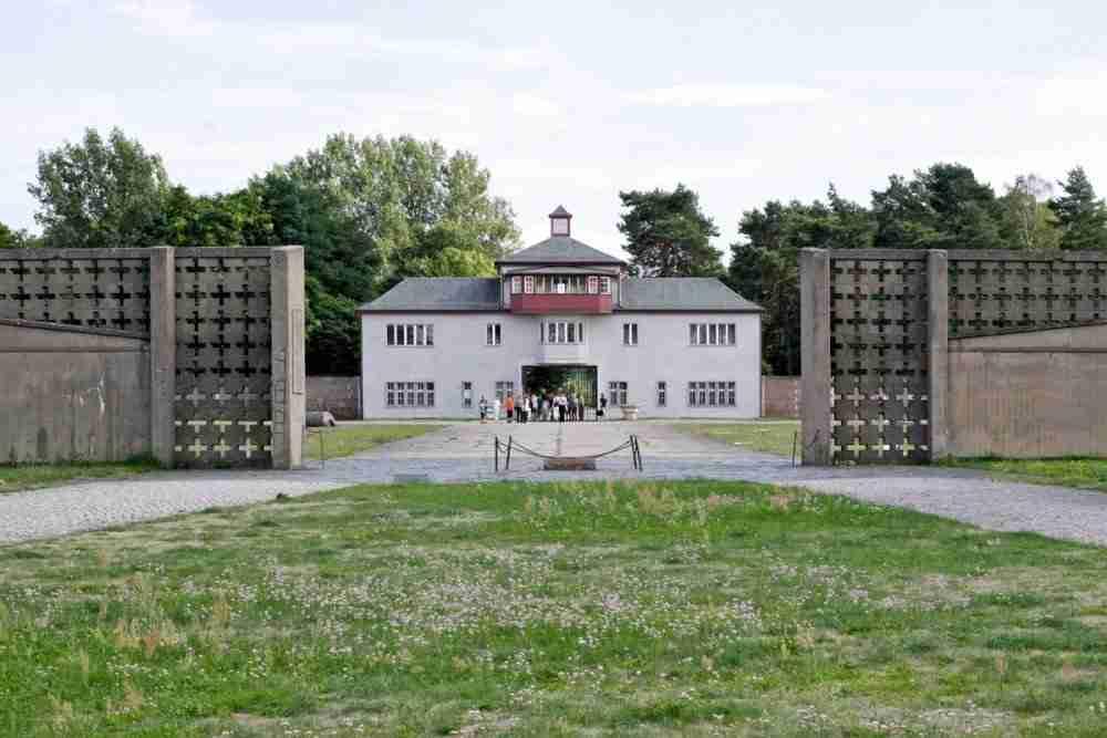 Gedenkstätte und Museum Sachsenhausen in Berlin in Deutschland