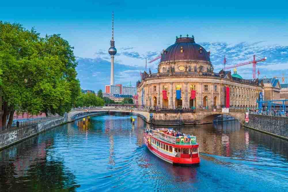 Geschichte der Museumsinsel in Berlin in Deutschland