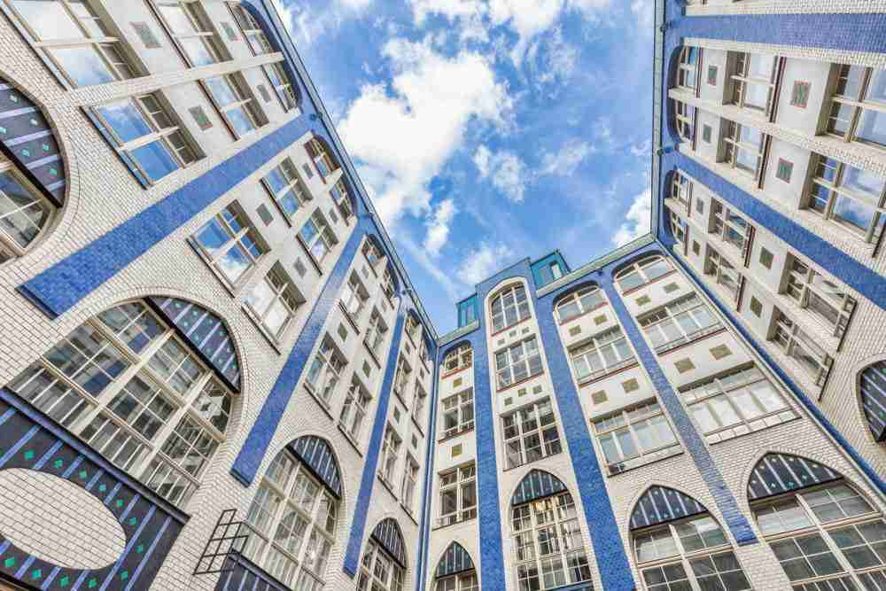 Hackesche Höfe in Berlin in Deutschland