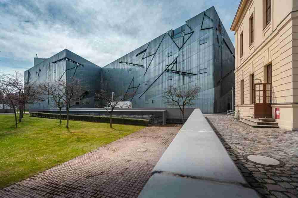 Jüdisches Museum in Berlin in Deutschland