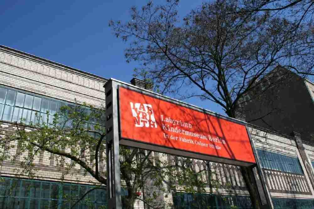 Labyrinth Kindermuseum in Berlin in Deutschland