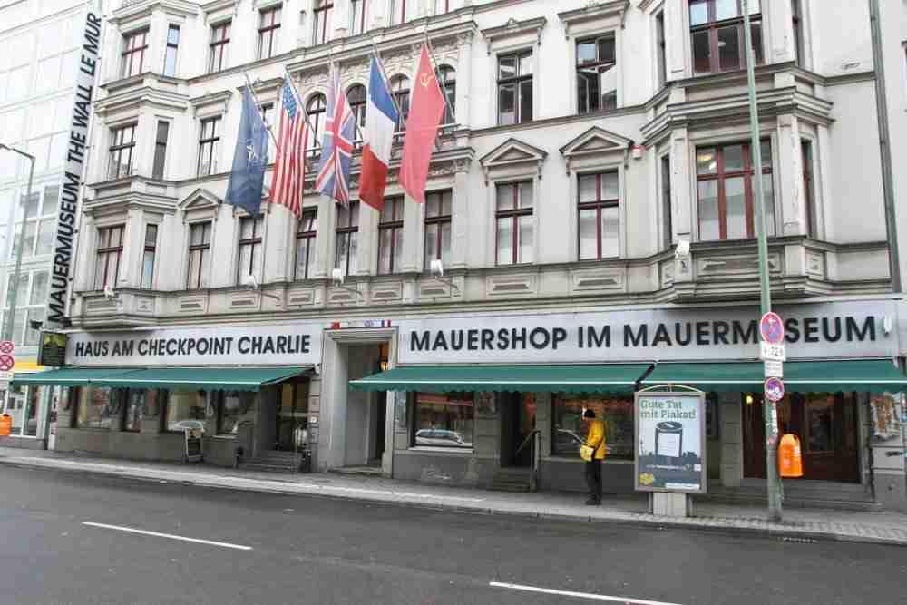 Mauermuseum Haus am Checkpoint Charlie in Berlin in Deutschland