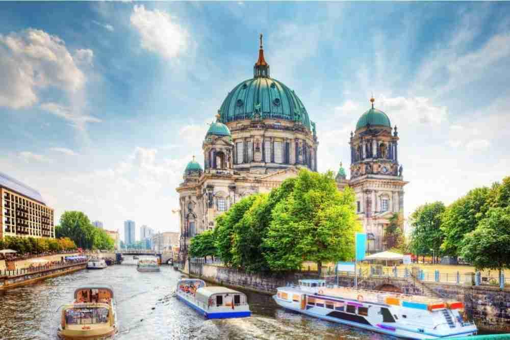 Mitte in Berlin in Deutschland