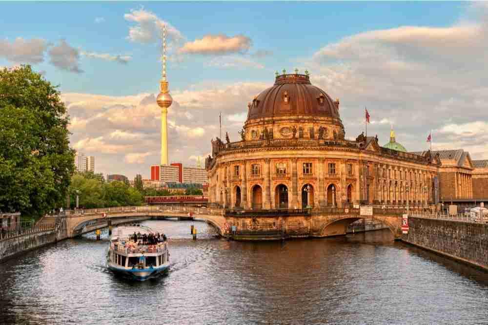 Museumsinsel in Berlin in Deutschland