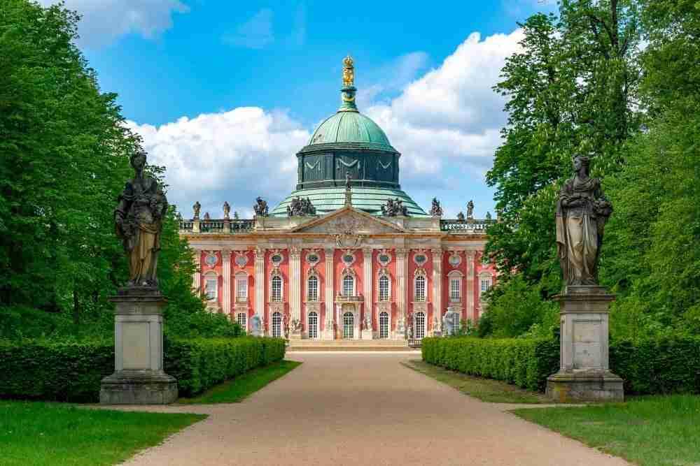 Neues Palais in Berlin in Deutschland