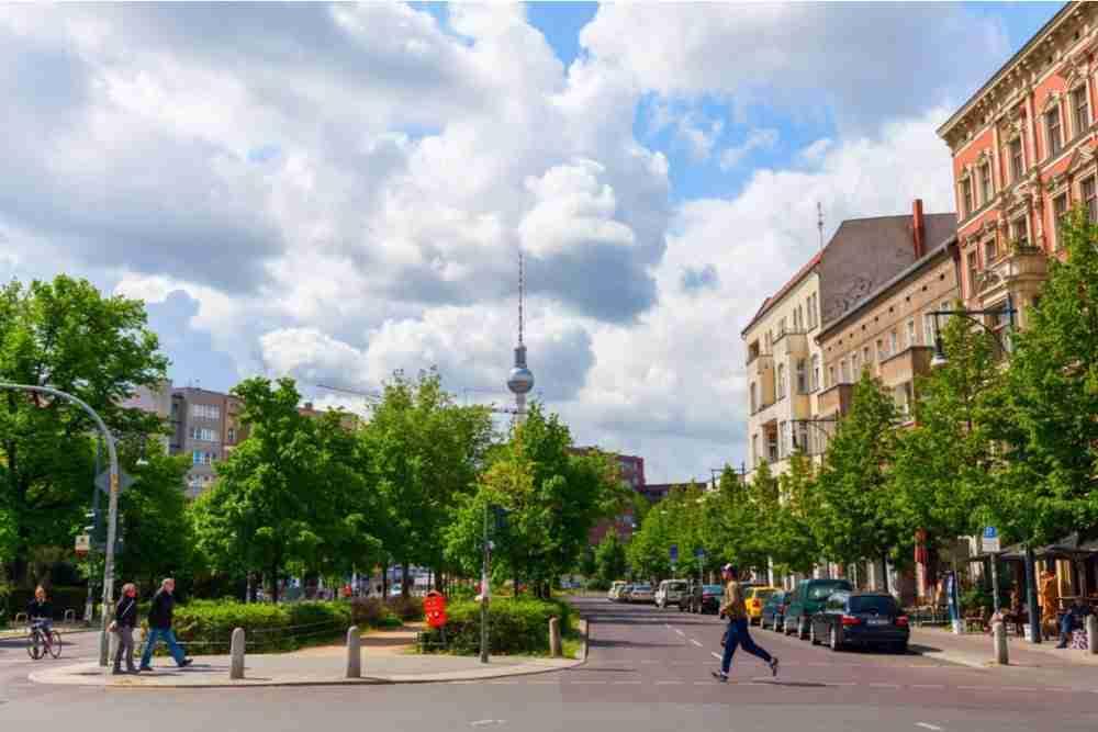 Pankow in Berlin in Deutschland
