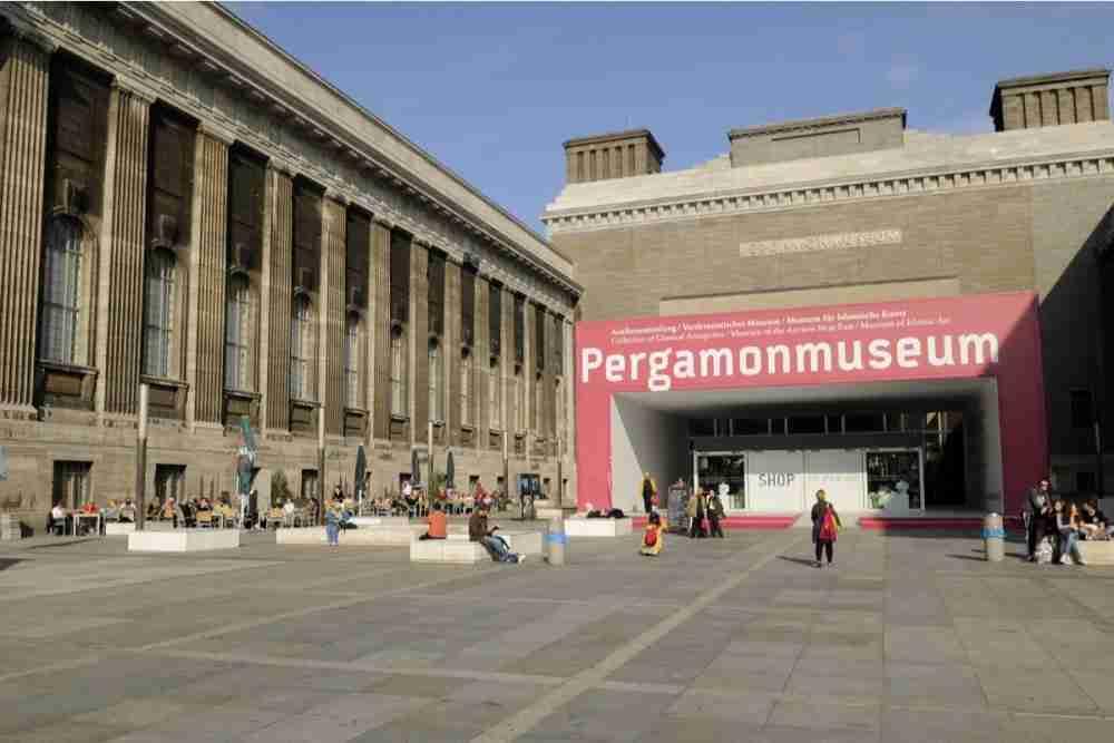 Pergamonmuseum in Berlin in Deutschland