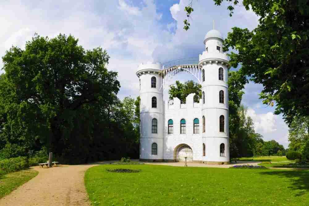 Pfaueninsel UNESCO Weltkulturerbe in Berlin in Deutschland