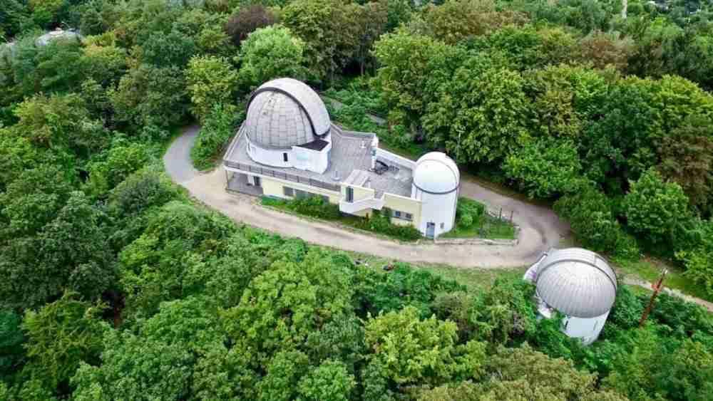 Planetarium am Insulaner Wilhelm Foerster Sternwarte in Berlin in Deutschland
