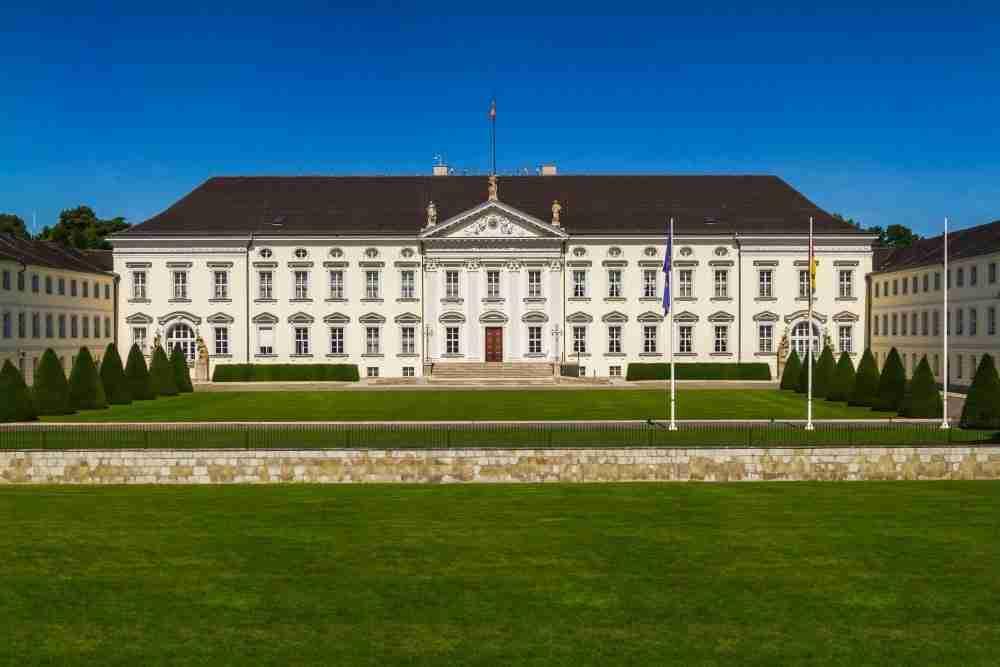 Schloss Bellevue in Berlin in Deutschland