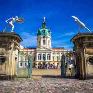 Schloss Charlottenburg in Berlin in Deutschland