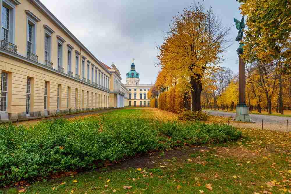 Schlossgarten Charlottenburg in Berlin in Deutschland