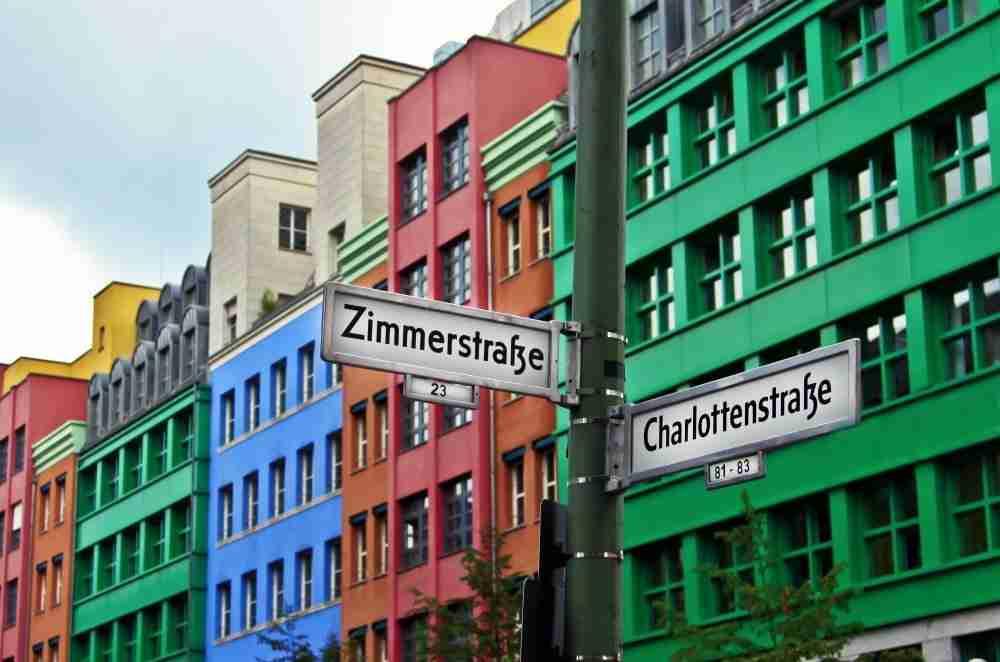 Schutzenstrasse in Berlin in Deutschland
