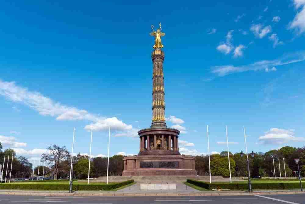 Siegessäule in Berlin in Deutschland