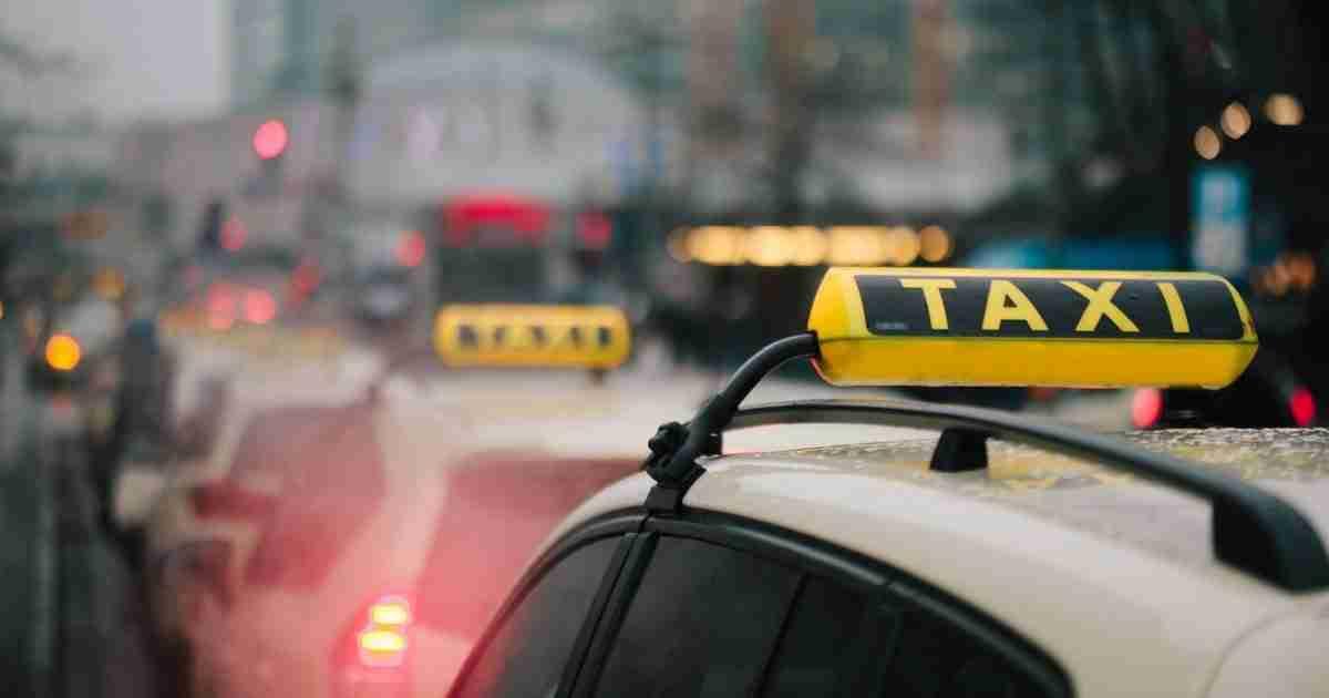 Taxis in Berlin in Deutschland
