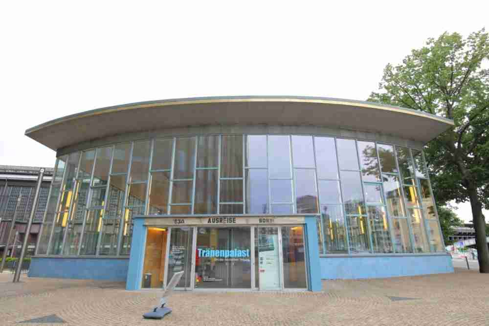 Tränenpalast in Berlin in Deutschland