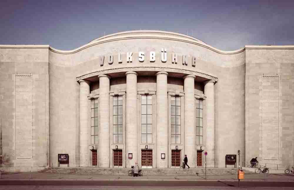 Volksbuhne Berlin in Deutschland