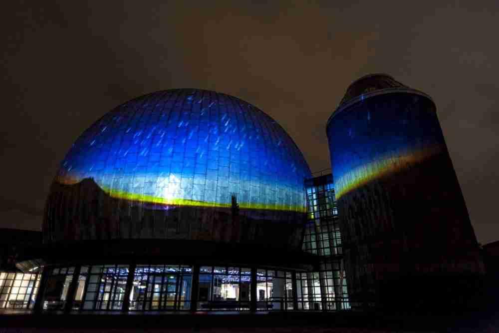 Zeiss Großplanetarium in Berlin in Deutschland