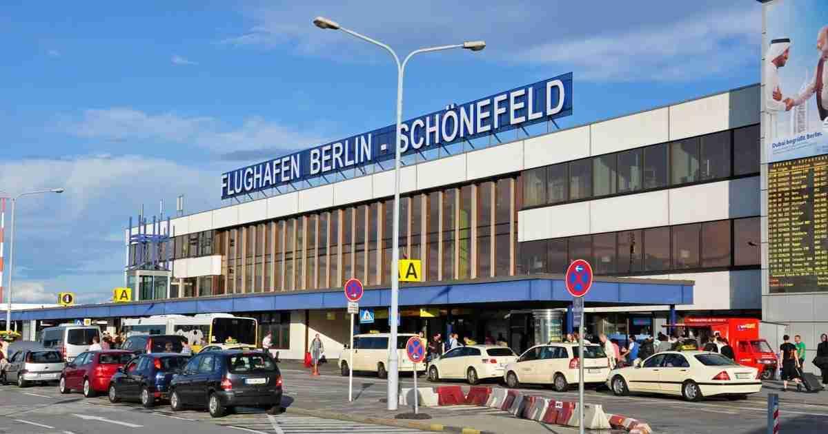 Schonefeld Airport in Berlin in Deutschland